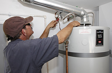 Menlo park plumber replaces an aging water heater